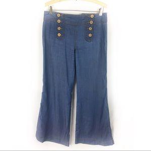 ELEVENSES   Anthropologie sailor front jeans 6